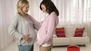 Schwangere Freundinnen