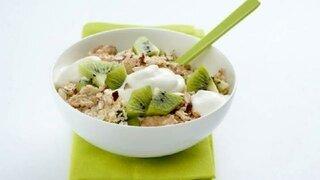 Kiwi-Flockenmüsli