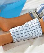 Wadenwickel können das Fieber senken