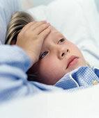 Bei Mumps lieber im Bett bleiben