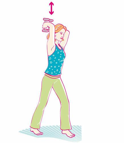 Übungen für Bauch, Beine, Po