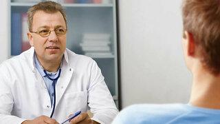 Sprechstunde beim Arzt