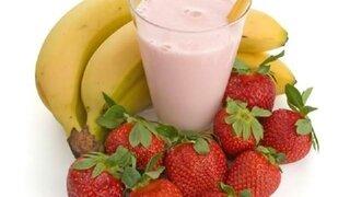 Bananen-Erdbeer-Shake