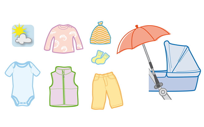Die richtige Kleidung fürs Baby