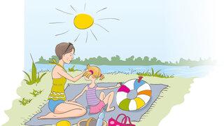 Haut Erklärvideo für Kinder