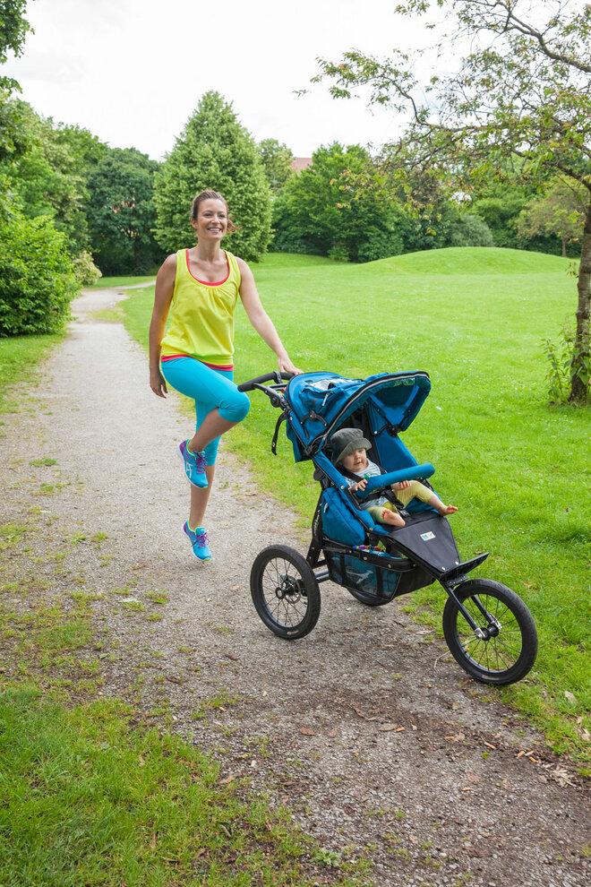 Workout mit Kinderwagen