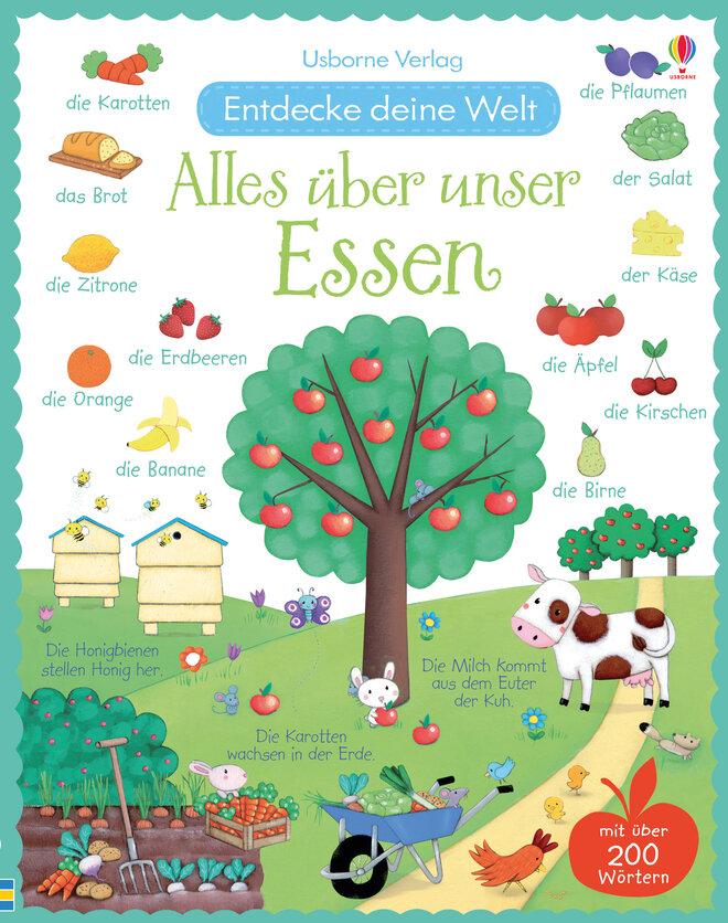 Kinderbuch Alles über unser Essen