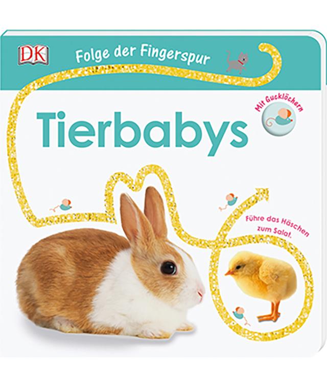 Folge der Fingerspur - Tierbabys