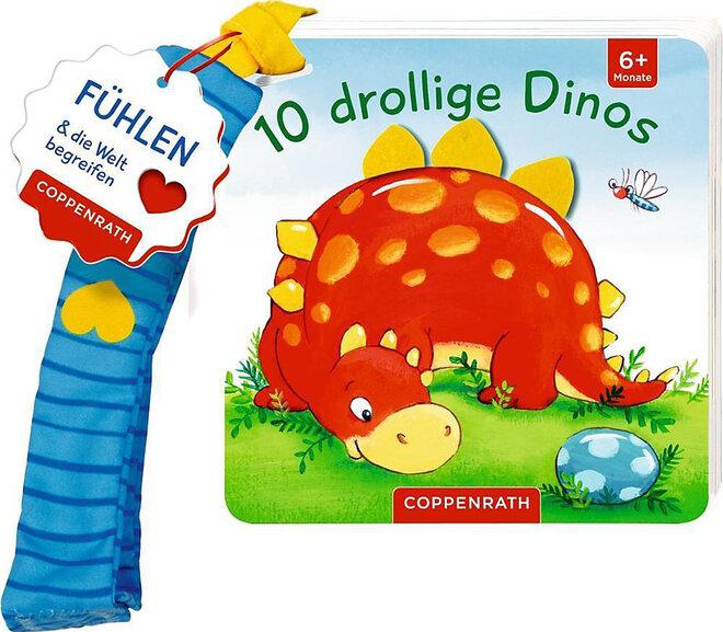 Zehn drollige Dinos
