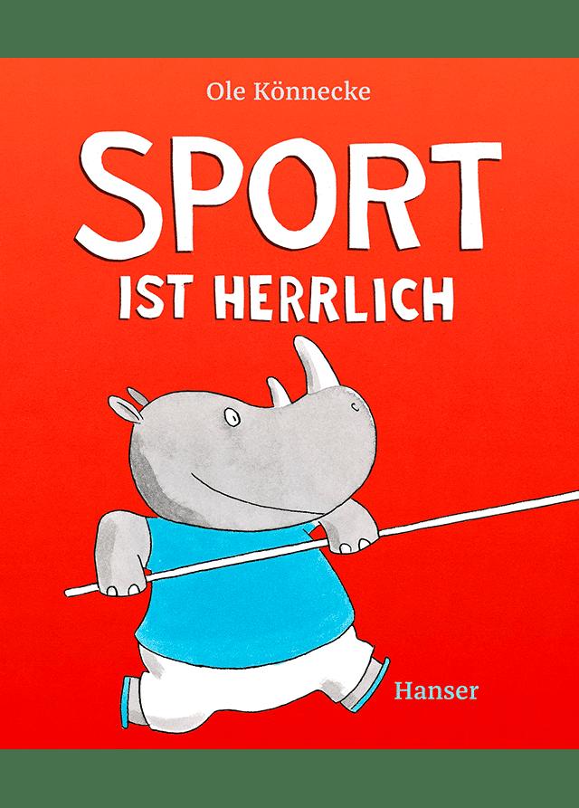 Buchcover: Sport ist herrlich