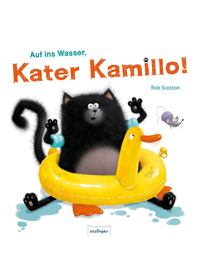 Buchcover: Auf ins Wasser, Kater Kamillo