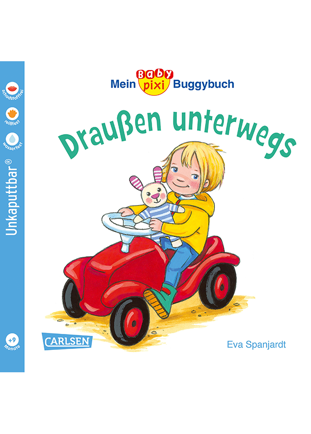 Buchcover: Mein BabyPixi Buggybuch ? Draußen unterwegs