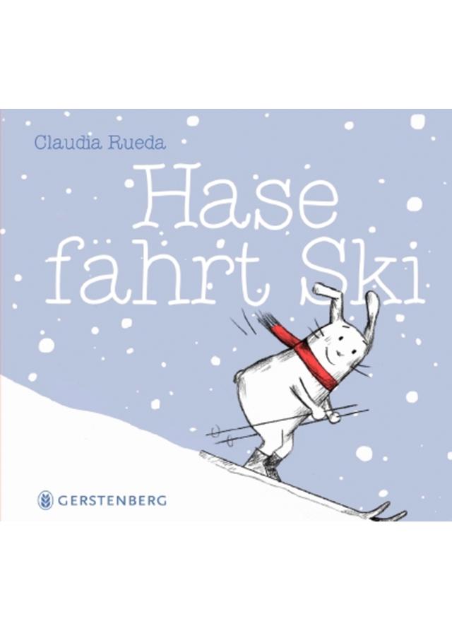 Buchcover: Hase fährt Ski