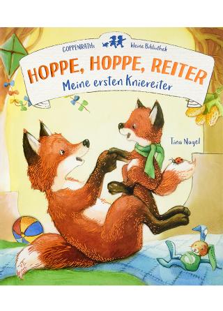 Buchcover: Hoppe, hoppe, Reiter. Meine ersten Kniereiter