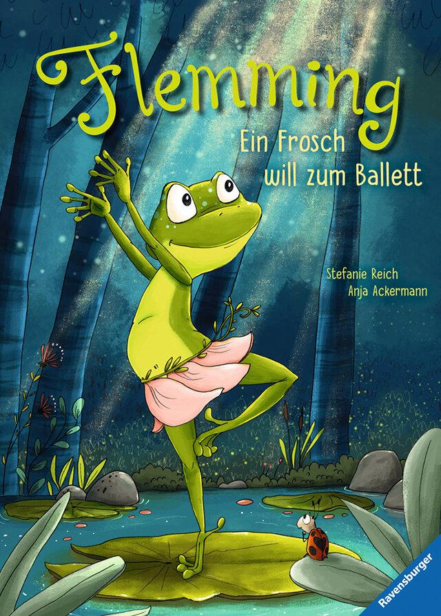 Buchcover: Flemming. Ein Frosch will zum Ballett