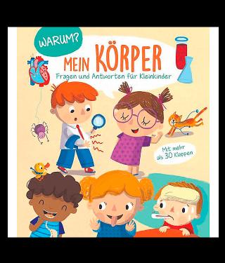 Buchempfehlung Kinderbuch Mein Körper Fragen und Antworten für Kleinkinder
