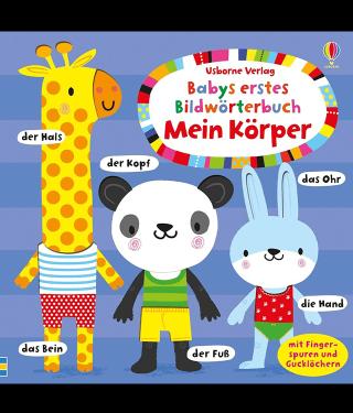 Buchempfehlung Kinderbuch Babys erstes Bildwörterbuch Mein Körper