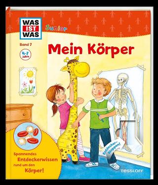 Buchempfehlung Kinderbuch Was ist was - Mein Körper