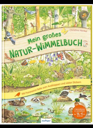 Wimmelbuch - Mein großes Natur-Wimmelbuch