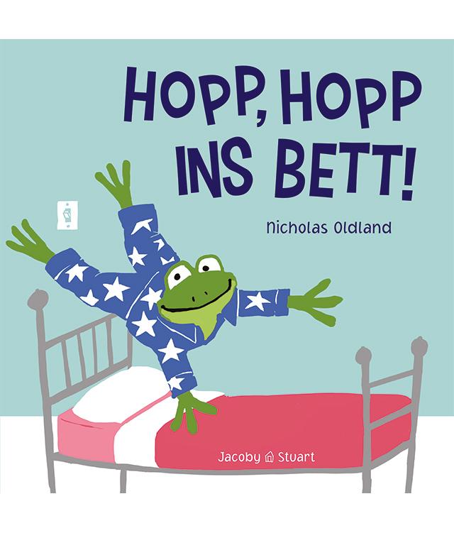 Kinderbuch: Hopp, Hopp ins Bett
