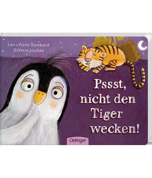 Kinderbuch: Pssst, nicht den Tiger wecken!
