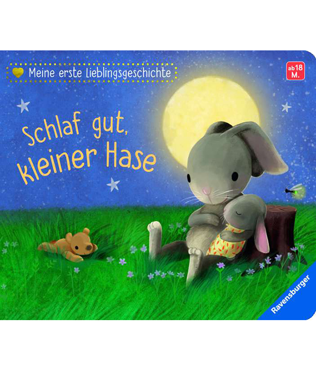 Kinderbuch: Schlaf gut, kleiner Hase