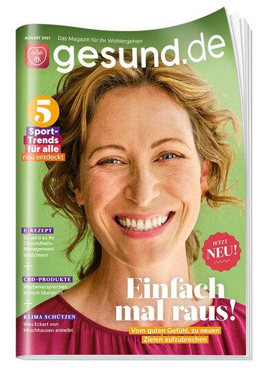 Das aktuelle Cover von gesund.de