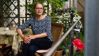Aufgrund einer Lebertransplantation wurde Ute N. als eine der ersten geimpft - trotzdem hat sie keine Antikörper gebildet