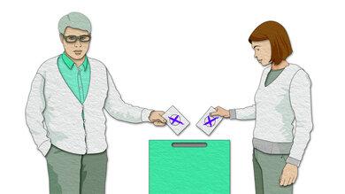 Ihre Wahl entscheidet mit darüber, wie das Gesundheitswesen in Zukunft gestaltet wird