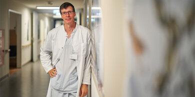 Kinderherzspezialist Daniel Vilser von der Universitätsklinik Jena.