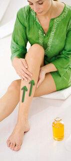 Beinmassage: Herrlich entspannend und durchblutungsfördernd
