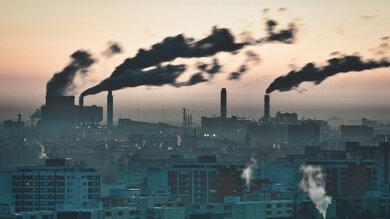 Düstere Aussichten: In Ballungsgebieten wie hier in Berlin ist Luft besonders stark verschmutzt. Verursacht wird das vor allem durch industrielle Anlagen, Straßenverkehr und Heizen in der kalten Jahreszeit