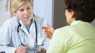Arzt-Patienten-Gespräch