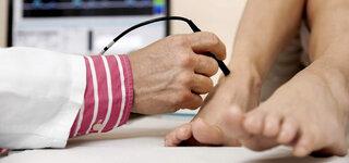 Ultraschalluntersuchung der Blutgefäße