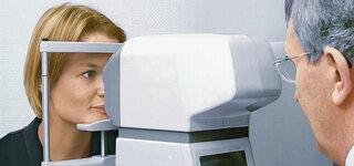 Messung des Augen Innendrucks