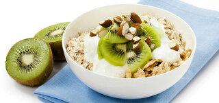 Müsli/Kiwi Frühstück