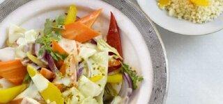 Currygemüse mit Orangen-Couscous