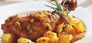 Zitronen-Knoblauch-Hähnchen