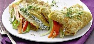 Gemüse-Pfannkuchen