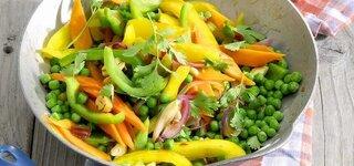 Asiatische Gemüsepfanne