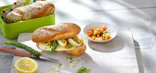Indisches Hähnchen-Sandwich