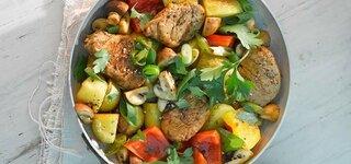 Kartoffel-Filet-Pfanne
