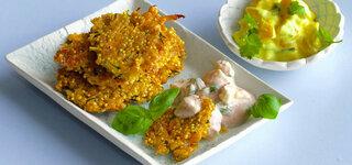 Gemüse-Vollkorn-Sticks mit Dip