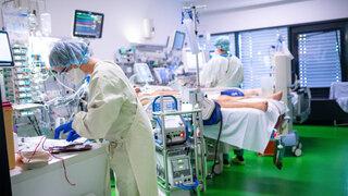 DR News Coroavirus Beatmung Atemnot Krankenhaus Personal Patienten