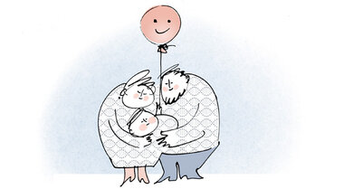 Dicke Eltern, dickes Kind: Wenn Eltern Übergewicht und Typ-2-Diabetes haben, geben sie die Anlagen dafür nicht nur über ihre Gene weiter, sondern auch durch eine falsche Ernährung