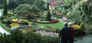 Butchart Gardens in Victoria, British Columbia, Canada