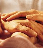 Patienten mit Schluckstörung brauchen gute Pflege und Zuwendung