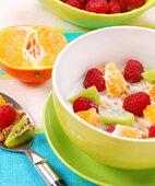 Flocken mit Früchte-Mix: So sieht ein gesundes Müsli aus
