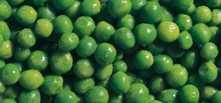 Grüne Erbsen enthalten viel Folsäure