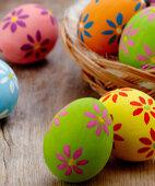 Eierspaß: Die Schalen von Eiern lassen sich kunstvoll bemalen